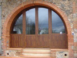 Porta in ferro verniciato