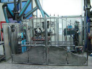 Cancello - fasi di lavorazione