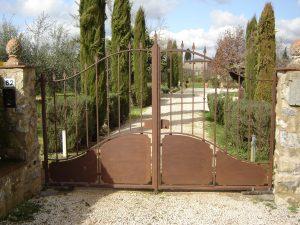 Cancello per ingresso principale